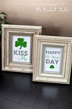 st. patty's day art prints diy