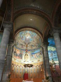 Interior  da Capela  Barcelona
