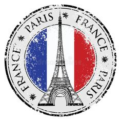 Paris town in France grunge stamp, eiffel tower vector. Paris town in France gru , Grunge, Paris Clipart, Eiffel Tower Drawing, Travel Stamp, France Flag, City Icon, Passport Stamps, Paris Images, Story Instagram