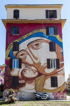 #Streetart by #MrKlevra - Tor Marancia (#Roma)