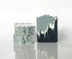 Men soap by SoapLab - coloured with indigo extract (which may stain washclothes).