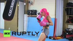 Meet Santiago's pink-haired 'Manga' martial arts champ