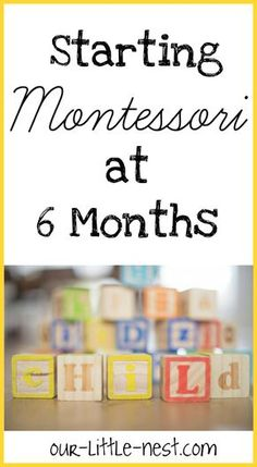 Read all about how one mom completely transformed life at home for her baby using Montessori philosophy!