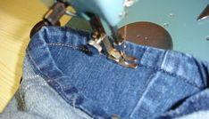 Como fazer barra original de jeans