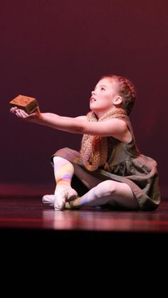 "Little Match Girl ""Eva"" Demi Character Solo Ballet Dance"
