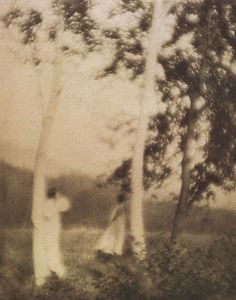 George H. Seely:White Trees, 1910