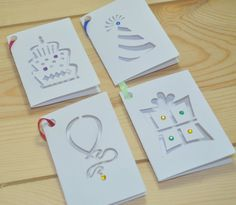 gift tags birthday gift present laser cut gems ribbon available from notonthehighstreet.com and www.sweetpeadesign.co.uk