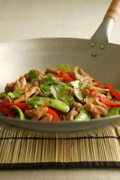 BILL GRANGER'S CHICKEN STIRFRY