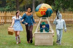 """Family Is Town Favorite With Son's """"Wizard of Oz"""" Wheelchair Costume"""