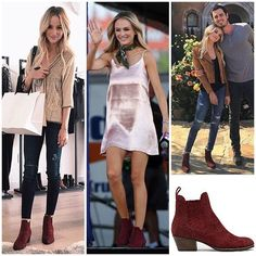 Lauren Bushnell wearing Dolce Vita booties  Shopping info at www.starstyle.com  #laurenbushnell #starstyle #celebritystyle #dolcevita #benandlaurentv #booties #fallstyle #benandlauren #celebrityfashion #benhiggins #style #fashion #ootd #lotd #thebachelor #fashionblog #styleblog
