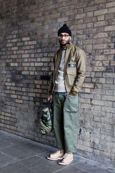 Fashion Week, Street Fashion, Fashion Outfits, Men Street, Street Wear, Stylish Men, Men Casual, Pantalon Cargo, La Mode Masculine