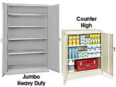 Steel Storage Cabinets, Industrial Storage Cabinets in Stock - ULINE