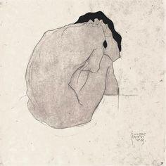 © Egon Schiele - Nudo (1910)