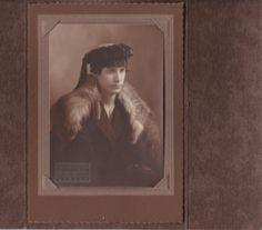 No name for the fashionable young lady or the photographer. John Doe, Family Album, No Name, The Help, Portrait, Lady, Men Portrait, Portrait Illustration, Portraits