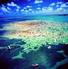 Ilha de Areia Vermelha - Paraíba
