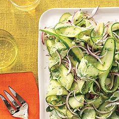 Herby Cucumber Salad | CookingLight.com