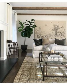 "22 Likes, 3 Comments - Interiors By Kylie Van Meter (@kylieinteriors) on Instagram: ""Crushing on the calming neural tones in the living room by @katiehodgesdesign  I could end my…"""
