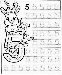 New System-Suitable Numbers Line Study - Preschool Children Akctivitiys Preschool Writing, Numbers Preschool, Learning Numbers, Preschool Printables, Preschool Lessons, Preschool Learning, Kindergarten Math Worksheets, Preschool Activities, Math For Kids