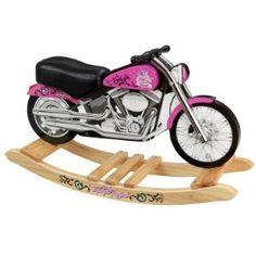 KidKraft Harley Davidson Pink Softail Rocker @Donna Clay