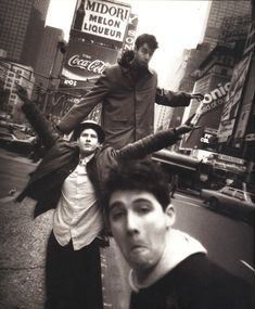 Beastie Boys in Times Square