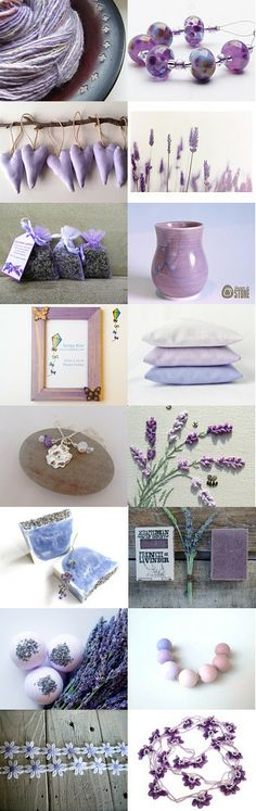 Lovely Lavender by Grannie Bunting on Etsy--Pinned with TreasuryPin.com