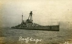 SMS Derfflinger with post Jutland configuration