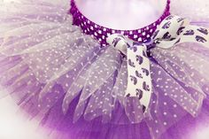 KState Purple and White Polka Dot Tutu by ThisTutuShoppe on Etsy, $25.00