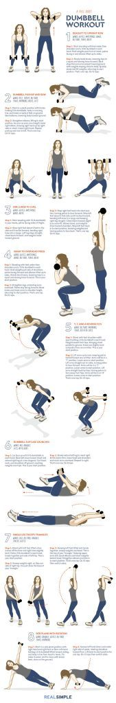 The Only Dumbbell Exercises Youll Ever Need