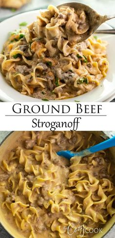 30 Easy Ground Beef Recipes for Dinner (with just few Ingredients) - Recipe Magik Ground Beef Recipes For Dinner, Dinner With Ground Beef, Ground Beef Recipes Easy, Easy Dinner Recipes, Easy Meals, Ground Beef Dishes, Egg Noodle Sauce Recipe, Recipe With Ground Beef And Noodles, Ground Chuck Recipes Dinners