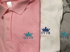 OTTB embroidered polo pink ladies OTTB shirt by RelativelyStable Riding Outfits, Embroidered Polo Shirts, Horse Stuff, Barns, Equestrian, Pink Ladies, Horses, Lady, Clothing