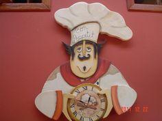 Relógio do cozinheiro