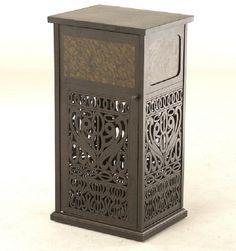 Tuscany By Hanamint Luxury Cast Aluminum Patio Furniture Trash Receptacle