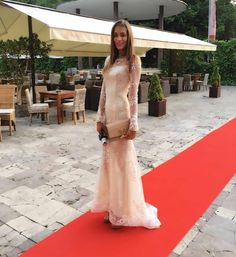 Jasmina Alagic, dress Jana Pištejová - Art Film Festival Trenčianske Teplice Lace Wedding, Wedding Dresses, Film Festival, Formal Dresses, Sexy, Art, Fashion, Love, Bride Dresses