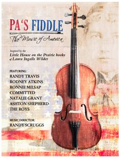 This is the cover for our PA'S FIDDLE DVD available exclusively through PBS beginning June 2, 2012.