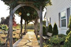 Farmhouse Landscape by Kimberley Bryan
