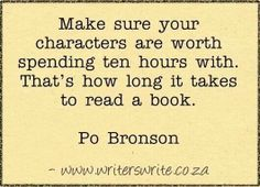 Not to mention the ten thousand hours it takes to write about them!