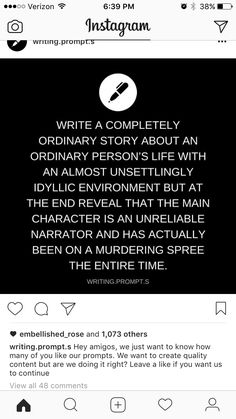 Don't make it the end but like the middle of the story, I would totally read that