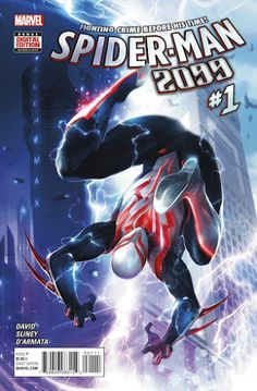 Spider-Man 2099 is back this October in Marvel's All-New All-Different Universe