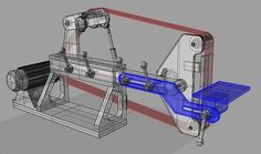 New Machine Build KMG clone belt grinder ( pics )