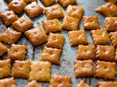 Homemade Cheez-Its