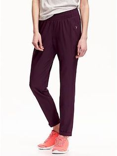Womens Semi-Fitted Running Pants