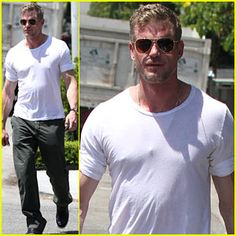 Eric Dane: 'I Loved Doing Grey's Anatomy' Eric Dane shows off his ripped arms as he heads out to do some shopping on Thursday (July in Hollywood. Mark Sloan, Marley And Me, Men Over 40, The Last Ship, Eric Dane, Medical Drama, Grey's Anatomy, American Actors, In Hollywood