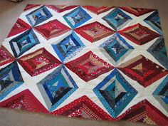 Lynda's Quilts: Strings, Trucks and Tractors