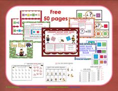 ATTENTION 1st GRADE!!!  Common Core addition  and subtraction 50 page PDF for grade one
