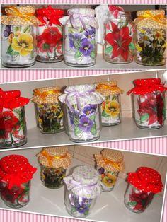 lembrancinhas feitas com vidro de mel