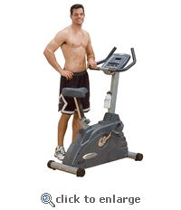 Body Solid Endurance Electronic Upright Exercise Bike with Heart Rate Readout, LED Display, Welded Steel Construction, Silent Poly-V Belt Drive Exercise Bike For Sale, Upright Exercise Bike, Exercise Bike Reviews, Upright Bike, Cardio Equipment, Training Equipment, Recumbent Bike Workout, Cardio At Home, Bikes For Sale