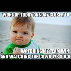 Go Texans!! Love it when the Cowgirls lose!! Hahaha!!!