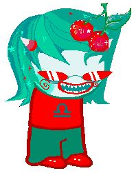 Trickster Terezi with cherries