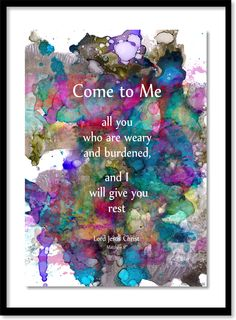 """208.  """"The Great Invitation"""" - with a promise. . . . Matt Violassi  . . .  layered alcohol inks"""