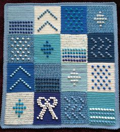 Ravelry: Project Gallery for 200 Crochet Blocks pattern by Jan Eaton